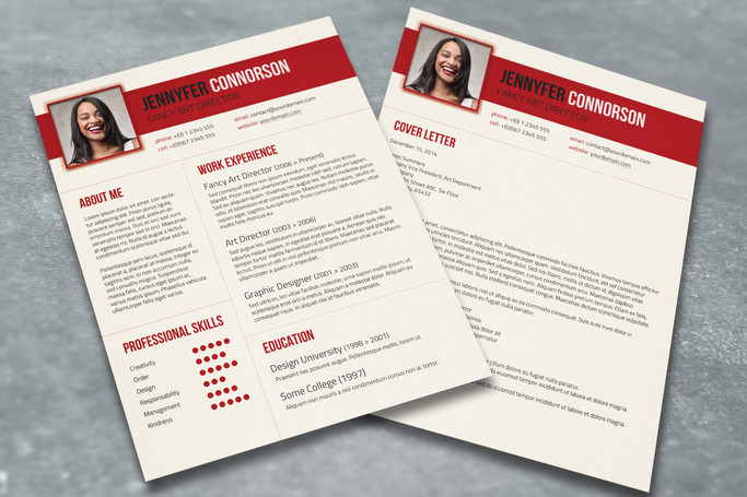 Hot Resume Template