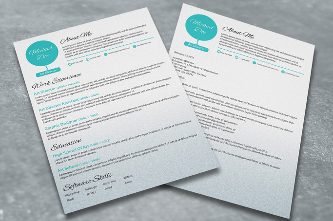 cv with matching cover letter