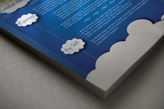 Resume Template Cloud