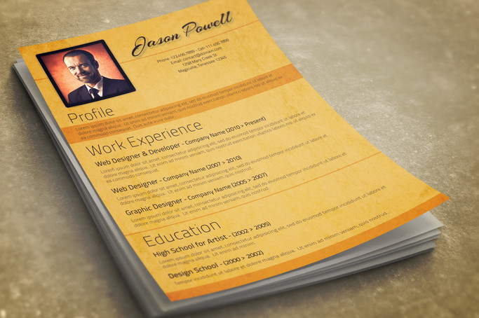 CV and Cover Letter Template