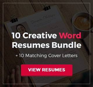 Word Resume Bundle
