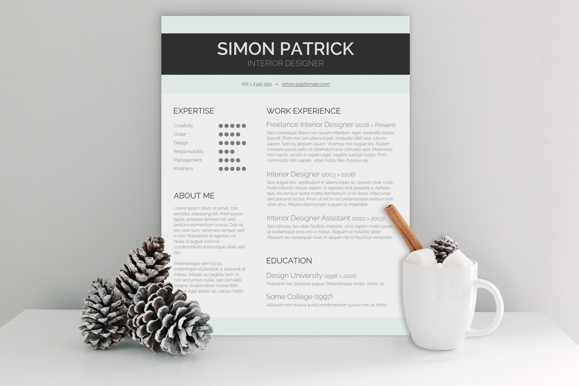 10 creative word resumes in 1 big bundle